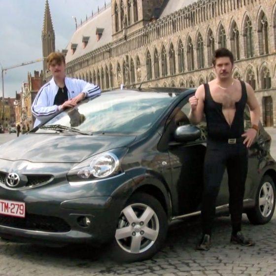 Ryan Northcott David Haysom Boris Juri Car Dance Party Belgium
