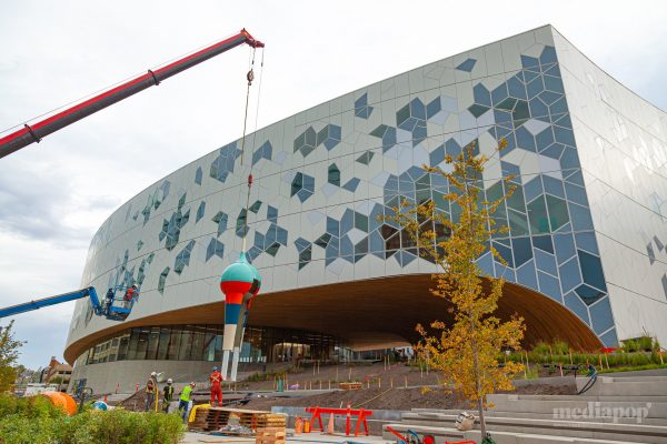 Calgary New Central Library Exterior Photography MEDIAPOP