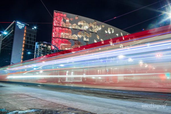 New Central Library Train Photography Calgary MEDIAPOP