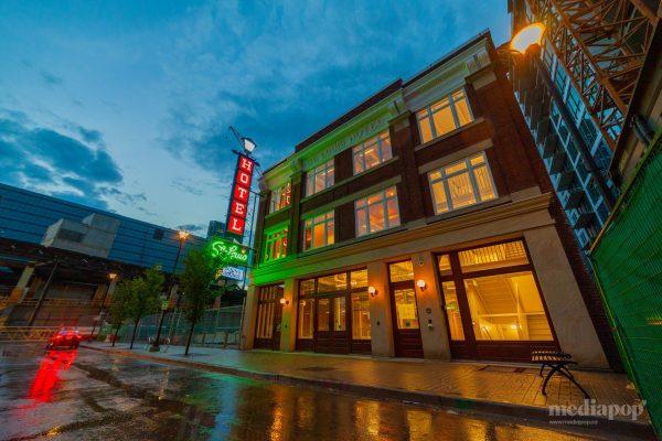 St. Louis Hotel Calgary Photography MEDIAPOP East Village