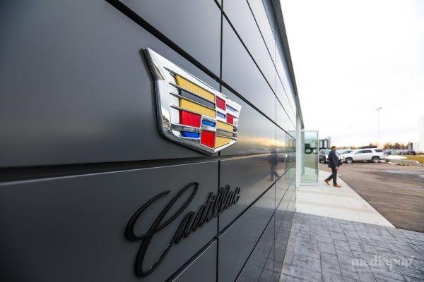 Photography Cadillac Dealership Calgary MEDIAPOP