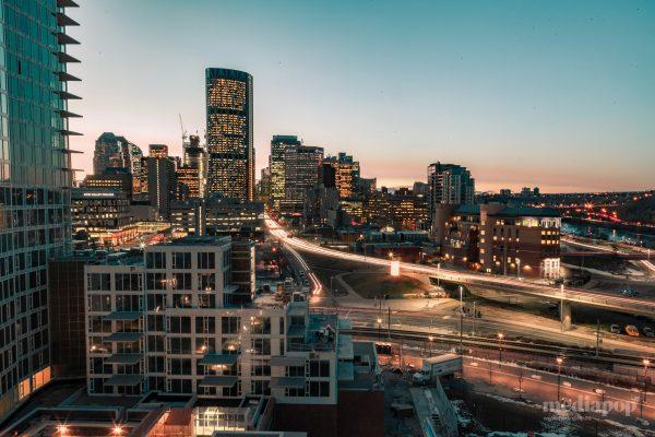 Calgary Cityscape Photography MEDIAPOP Films